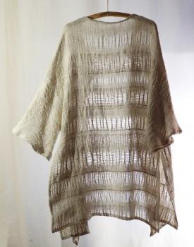 long cardigan- hand weaving 004-d