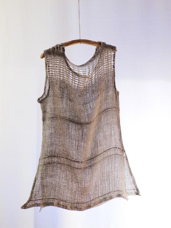 top - hand weaving 001-c